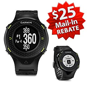 Garmin Approach S4 Golf GPS Watch (NEW VERSION w/ 30,000+ Courses) | 60-Day Buy & Try Return Policy! (Black)
