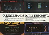 Our face stands out TOMY Tomytronic Scramble Pac Man Tron game ad 1982