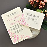 DIY Cherry Blossom Printable Invitation Kit