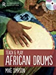 Teach and Play African Drums (Book & DVD)