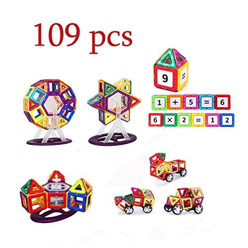 BAA-SHOP-109pcs-Magnetic-Building-Blocks-ToysEducational-Stacking-Construction-Magnet-Blocks-Sets