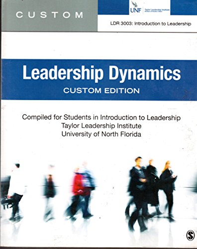 Leadership Dynamics UNF Custom Edition (Leadership Custom By Northouse compare prices)