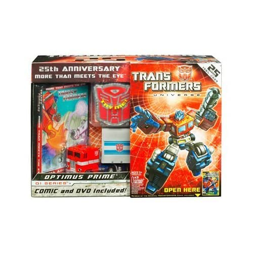 Transformers Universe 25th Anniversary GI Series Deluxe Box Set Optimus Prime by Hasbro