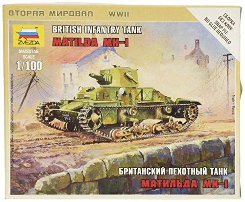 Zvezda Models Matilda Mk.I SnapKit - 1