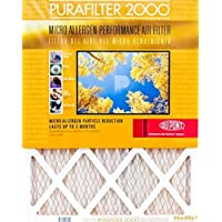 4-Pack Purafilter Gold High-Efficiency Air Filters