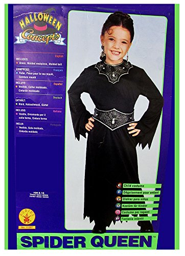 Rubie's Girls 'Spider Queen' Halloween Costume