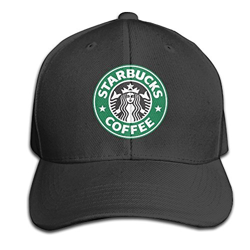 hittings-lowkeynr1-starbucks-coffee-logo-adjustable-peaked-baseball-caps-hats-duck-tongue-ha-for-men