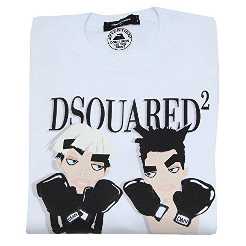 5793L felpa uomo DSQUARED D2 cotone felpe sweatshirts men [XL]