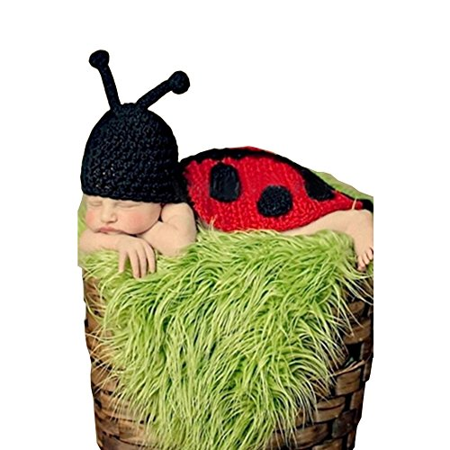 Lisianthus Insects Baby Costume Photography Prop Manual Knit Crochet