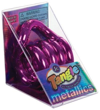 Tangle Creations - Jr. Metallic - PINK (7 inch)