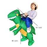Christmas Inflatable Ride Dinosaur T-Rex Adult Halloween Suit Cosplay Costume