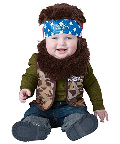Duck Dynasty Willie Baby Costume