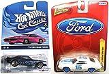 Gran Torino Classic 70's Car Set Johnny Lightning '72 Ford Torino Sport & '73 Gran Torino Cool Classics Spectrafrost Paint collectibles