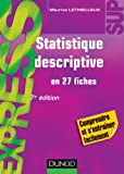 Statistique descriptive - 7ème édition - en 27 fiches
