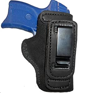 Ruger lc9 w lasermax leather gun holster pro for Pro carry shirt tuck