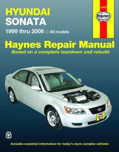 Hyundai Sonata 1999 thru 2008 (Automotive Repair Manual)