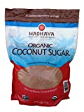 Madhava Organic Coconut Sugar 4 Pound Resealable Bag