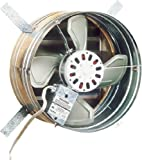Broan 35316 1600 CFM Gable Mount Powered Attic Ventilator