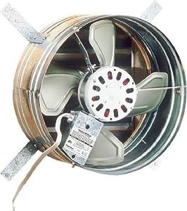 Broan 35316 1600 CFM Gable Mount Powered Attic Ventilator