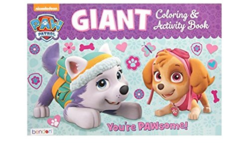 "Paw Patrol Giant Coloring and Activity Book - 11"" x 16"""