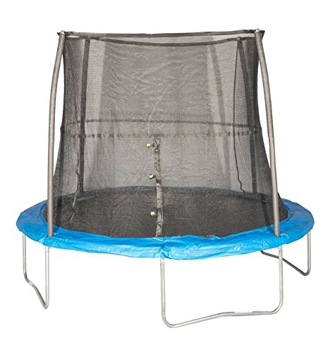 JumpKing-10-Foot-ft-Outdoor-Trampoline-and-Safety-Net-Enclosure-Combo-Blue