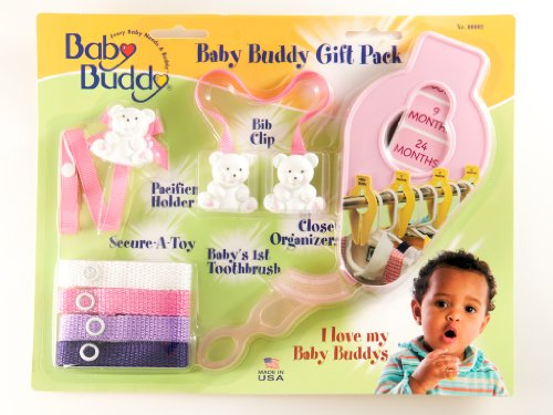 Baby Buddy Gift Pack, Pink front-961429