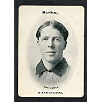 1906 WG3 Fan Craze Case Patten Senators VG-EX 273529 Kit Young Cards