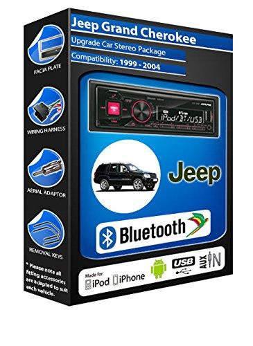 Jeep Grand Cherokee/Alpine 72BT UTE-kit mains libres Bluetooth de voiture pour autoradio stéréo