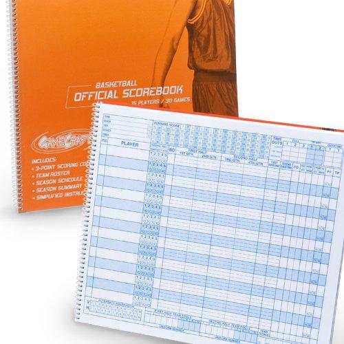 Score Right Gamecraft Basketball Scorebook