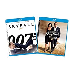 Skyfall / Quantum of Solace (Two-Pack) [Blu-ray]
