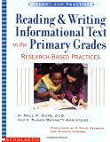 Reading & Writing Informational Text In The Primary Grades (Theory and Practice)