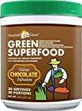 Green Superfood Chocolate Drink Powder (30 Day Supply, 8.5oz)