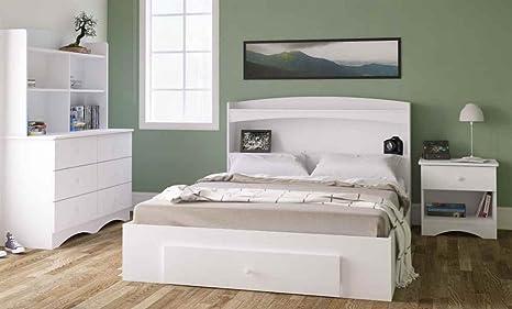 3-Pc Bedroom Set in White