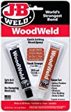 J-B Weld 8251 WoodWeld Quick Setting Wood Epoxy Adhesive - 1.52 oz