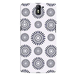 ColourCrust OnePlus One Mobile Phone Back Cover With Pattern Style - Durable Matte Finish Hard Plastic Slim Case