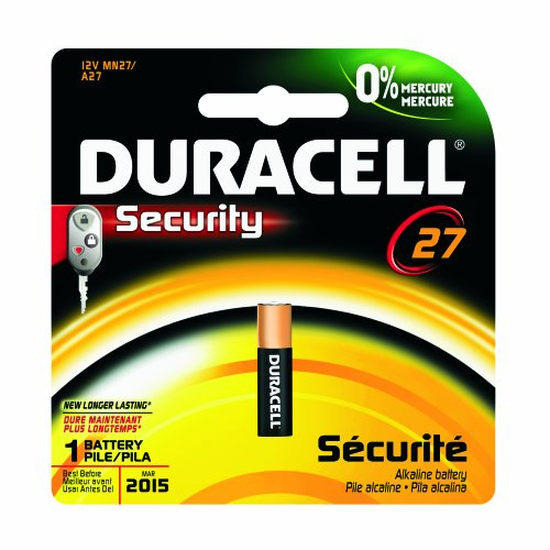 Duracell Mn27Bpk09 Alkaline Keyless Entry Battery, 12.0V (Case Of 6)