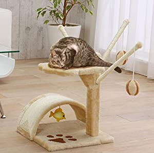Lower Type Cat Tower Cat Tree Cat Toy Cat Furniture Cat Condo QQ80003
