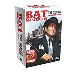 Bat Masterson: The Series (Gene Barry) with 6 Bonus Django Movies