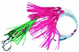 Blue Water Candy 4.5-Inch Squid Daisy Chain Lure with Size 8/0 Tandem Hooks