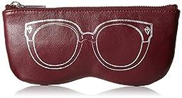 Rebecca Minkoff Sunnies Pouch Wallet, Port, One Size