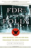 img - for FDR's Folly: How Roosevelt and His New Deal Prolonged the Great Depression book / textbook / text book