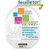 BTS Notariat Environnement économique et managérial du notariat