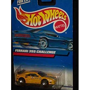 2000-162 Ferrari 355 Challenge Collectible Collector Car Mattel Hot Wheels 1:64 Scale