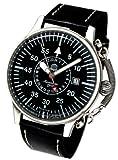[エアロマチック1912]aeromatic1912 腕時計 ドイツ製二戦ドイツ空軍レトロ加工復刻版自動巻 A1395 【並行輸入品】