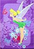 Disney Fairies 'Tinkerbell Tropical' Children's Bedroom Rug 3ft 1 X 4ft 4