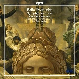 ドレーゼケ:交響曲 第1番 Op.12 ト長調/交響曲 第 第4番 WoO 38 ホ短調/喜劇的シンフォニア/聖名祝日 序曲 (Draeseke: Symphonies 1 & 4; Gudrun Overture)