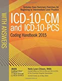 img - for ICD-10-CM and ICD-10-PCS Coding Handbook, with Answers, 2015 Rev. Ed. book / textbook / text book