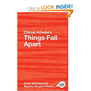analysis of chinua achebes first novel things fall apart An analysis of chinua achebe's things fall apart things fall apart (1958) is set in the 1890s during a time when european imperialism sought to include africa as part of their colonial empires.