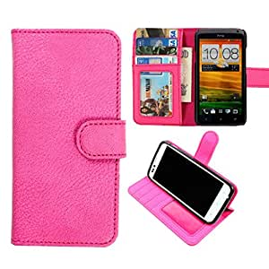 DooDa PU Leather Wallet Flip Case Cover With Card & ID Slots & Magnetic Closure For Micromax Canvas 3 A115