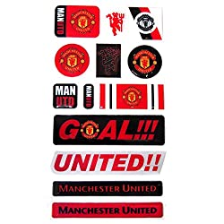 Manchester United F.C. Bubble Sticker Set
